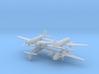 1/700 C-46 w/Gear x4 (FUD) 3d printed