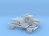 1/87 1945-50 Dodge Power Wagon Flat Bed 3d printed