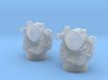 1/350 US Navy AN-SPG-55 Fire Control Set 3d printed