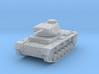 PV154B Pzkw IIIF Medium Tank (1/100) 3d printed