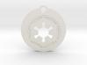Star Wars Keychain - Empire Symbol 3d printed