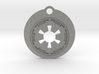 Star Wars Keychain - Empire Symbol 3d printed