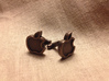 Apple Cufflink 3d printed