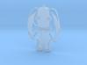 Button Rabbit 2 3d printed