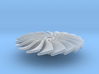 10 mm Diameter Turbo Fan for Jet Engines 3d printed