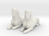 Pair of Sphinx Statues 3d printed
