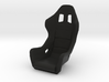 Race Seat FType - 1/10 3d printed