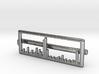 Mass Spectrum Tie Bar - Science Jewelry 3d printed