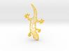 Voronoi Gecko  3d printed