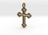 Classic Cross 3 Pendant 3d printed