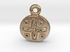 Aztec Gold-Design Pendant 3d printed