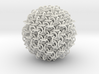 3D chainmaille ball 3d printed
