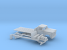 1-160 1960-61 Chevrolet C 50 Flat Bed 3d printed