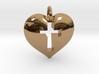 Cross Heart 3d printed