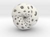 Octahedron Hopf preimage (edges) 3d printed
