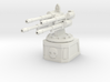 Quad Automatic Cannon Emplacement 3d printed