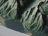 Grand Tetons, Wyoming, USA, 1:100000 Explorer 3d printed Close-up of Jenny Lake and the beginning of Cascade Canyon