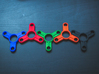 The Trama - Fidget Spinner 3d printed Some colours!