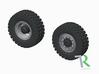 H0 1:87 Reifen 365/85 R20 für 8x8 3d printed