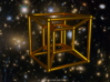 Tesseract - 4d Hypercube - E4 3d printed Artist impression of the tesseract