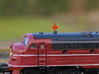 Steam Heater Exhaust for Nohab in N scale 3d printed