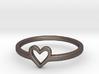 Heart Ring - Ella edition 3d printed