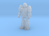 Diaclone Trooper, at attention 35mm Mini 3d printed
