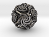 Dodecahedron W-Spirals 1.25inch 3d printed