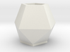 Planter 150 Mm For Shapeways - Empty Bottom - 1.5  3d printed