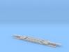 SRB Train QTTX 8-Axle 195 Ton Flatcar 1:160 3d printed