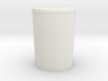 Printle Thing Dust Bin - 1/24 3d printed