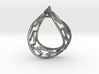Infinity Frame Ring 3d printed