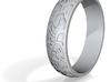 "Ring ""Ornament 2"" 3d printed"