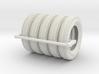 1/18 6.00 X 16 Dunlop Fort Tire SET1 3d printed