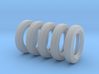 1/35 6.00 X 16 Dunlop Fort Tire SET1 3d printed
