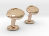 American Football Cuffslinks 3d printed American Football Ball Cufflinks