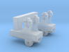 Dual  Pedestal Connector B for DShK scale 1:35 3d printed