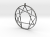 Enneagram  pendant / Fourth way pendant  3d printed