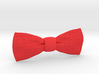 Slip On Bow Tie with Triangular Patterning 3d printed