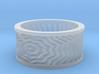 Starburst Ring 3d printed