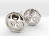 Bio Hazard Earrings 3d printed