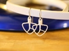 Kitchenaid-Style Mixer Earrings 3d printed