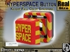 Full Color Hyperspace Button 3d printed