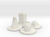 Monopoly type pawns Doctor Who 3d printed