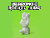 Rocket Jump Transforming Weaponoid Kit (5mm) 3d printed WS&F robot mode