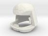 Viper Pilot Helmet (Battlestar Galactica TOS), 1/6 3d printed