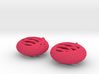 Quark Earrings - Basket 3d printed