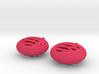 Quark Earrings - Basket 3d printed