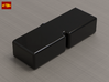 Fake Button for V6 Box and V6 Box MHS Compatible 3d printed Fake Button for V6 Box