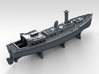 1/600 WW2 RN Boat Set 4 with Mounts 3d printed 50ft Steam Pinnace
